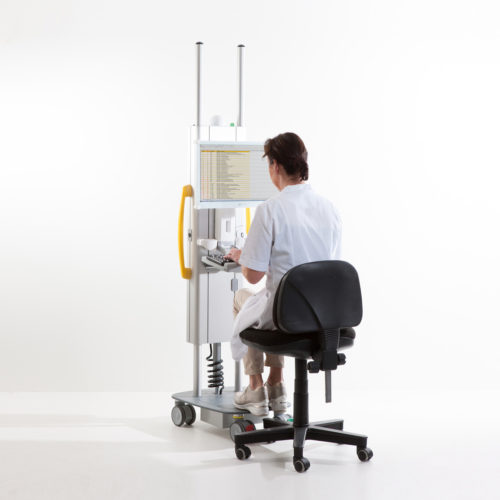 Roll-IT-Sitting working position