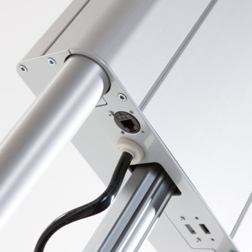 Roll-IT-USB connections and external ethernet connection