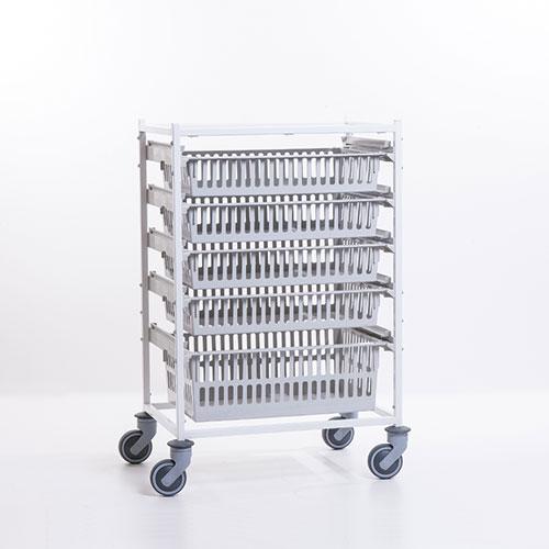 Chariots de soins modulaires